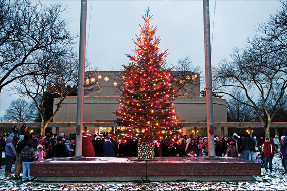 Holiday Walk at the Cultural Center campus took place on December 3 this year.
