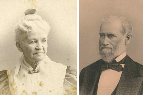 Josiah died in 1896, and his wife Harriet A. Miles lived in their home until her death in 1911.