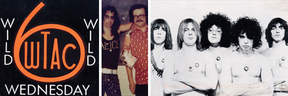 "Right: Lincoln Park, MI band the MC5 rocked the first Sherwood Forest ""Wild Wednesday"" concert in June, 1970."