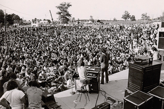 "Sherwood Forest ""Wild Wednesday"" concert, 1970"