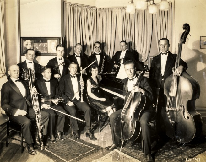 Chamber Music Society, 1927.