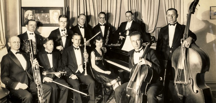 CHAMBER MUSIC SOCIETY, 1927. BY KEN WALLACE SR., CROOKS STUDIO.