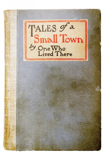 One copy of Eddy's book, Tales of a small Town by One Who Lived There, was owned by Mrs. J. Dallas Dort; her signature is inside.