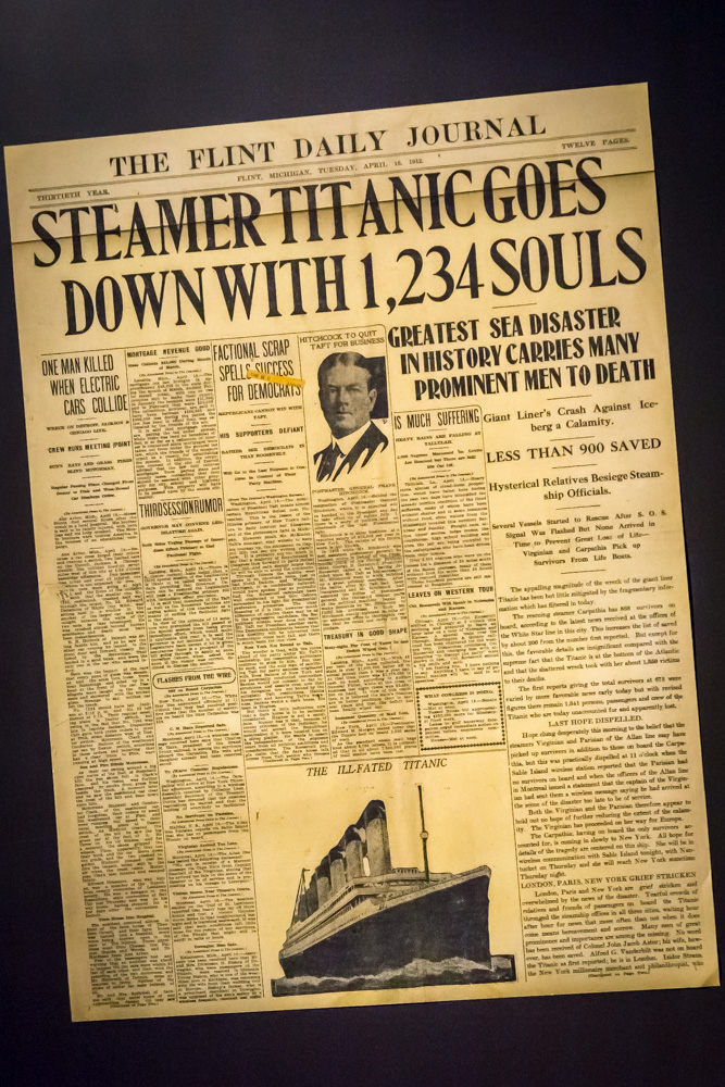 titanic history of a disaster essay Titanic: sinking the myths the titanic disaster today is a in a strange quirk of history the man directly responsible for the loss of.