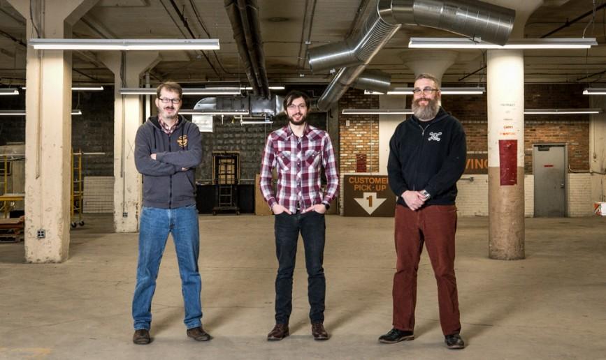 L-R: Joel Rash, Jon Hardman & Michael Wright