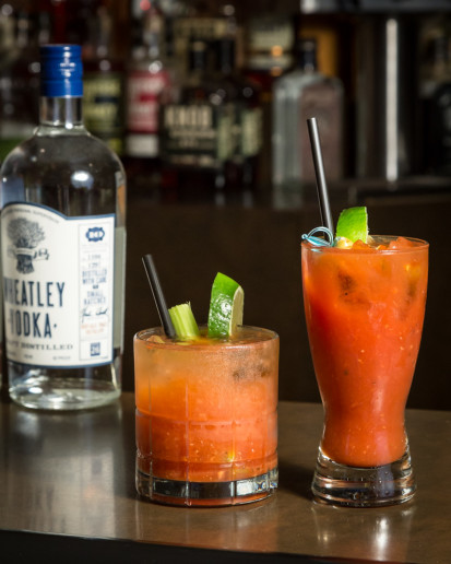 THE RED BARON'S AWARD-WINNING BLOODY MARY