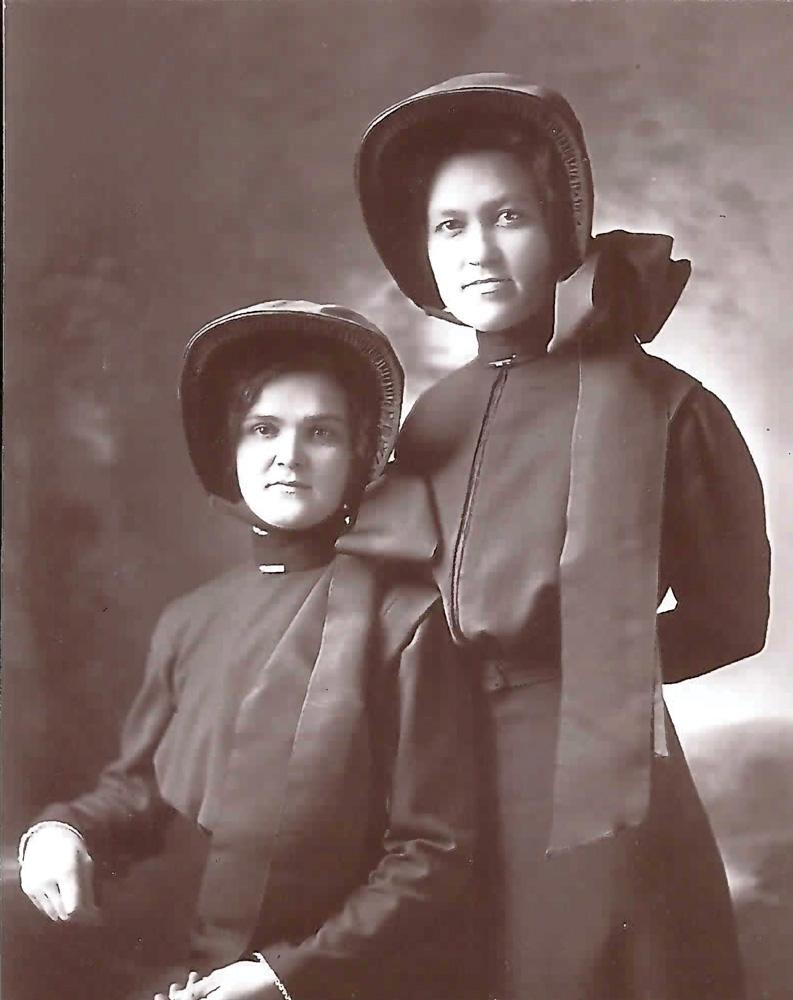 1919: Celia McDougall & Grace Beacraft Flint Citadel Lassies