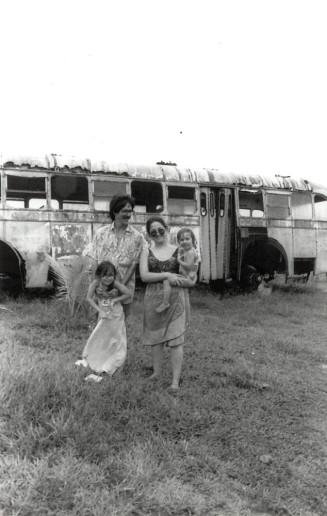 Keith, Mara, Anastassia & Sarah Fulmer,Pacific Harbor, Fiji, 1991