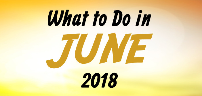What to Do in June 2018
