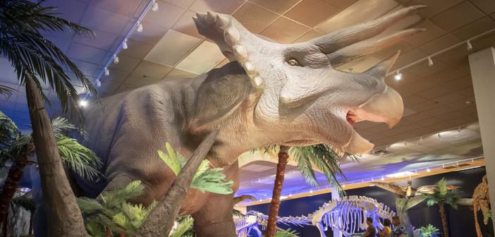 "Rooooaaaarrrrrr!  <span class=""subtitle"">  Sloan Longway Brings Dinosaurs to Courtland Center</span>"