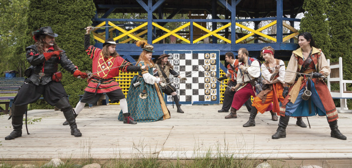 "Steel & Story <span class=""subtitle""> Duelists Bring Excitement to Michigan Renaissance Festival </span>"