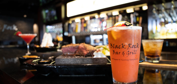 """Black Rock Bar & Grill<span class=""""subtitle"""">Ambience with Sizzle</span>"""
