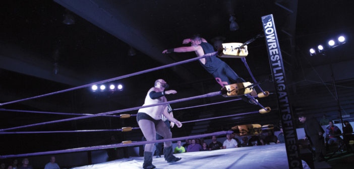 Larger Than Life Pure Pro Wrestling