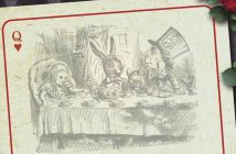 John Tenniel - Alice in Wonderland, Illustrator: Tenniell 1st Russian Edition  / svetlanasmirnova /stock.adobe.com