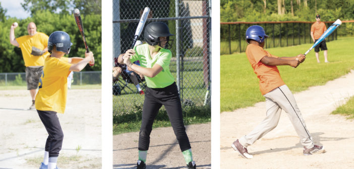 "Play Ball! <span class=""subtitle""> Local Youth Leagues Take Over the Summer </span>"