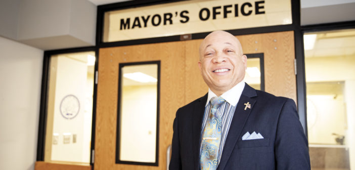"Meet Mayor Sheldon Neeley <span class=""subtitle""> Working to Unite Flint </span>"