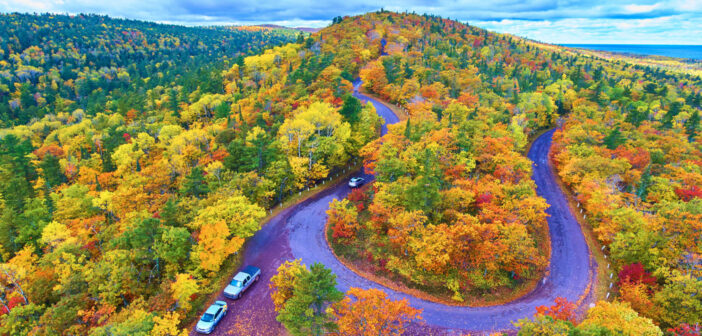 "Natural Brilliance <span class=""subtitle""> Michigan's Best Fall Foliage Spots & Drives</span>"