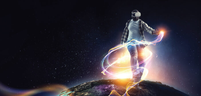 """A World Without Limits <span class=""""subtitle""""> The Sandbox Virtual Reality Arcade & Rage Rooms</span>"""
