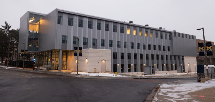 """At the Intersection of People & Technology <span class=""""subtitle"""">The UM-Flint Murchie Science Building Expansion</span>"""