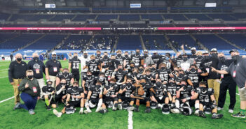 """A Family Tradition <span class=""""subtitle""""> State Champion New Lothrop Football</span>"""
