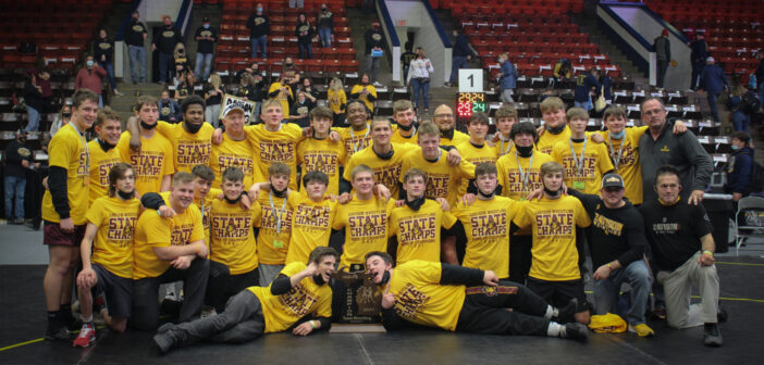 """A Year Unlike Any Other <span class=""""subtitle"""">Davison Cardinals are State Wrestling Champs</span>"""