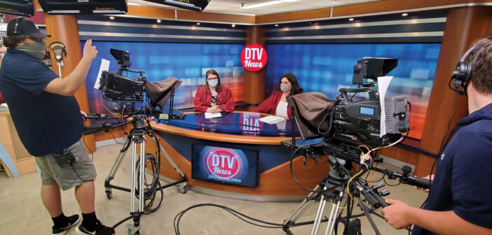 """DTV News <span class=""""subtitle"""">Coming To You LIVE!</span>"""